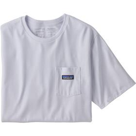 Patagonia P-6 Label Pocket Responsibili-Tee Men, white
